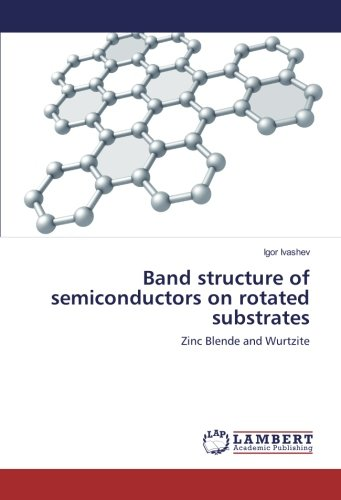 Band structure of semiconductors on rotated substrates: Zinc Blende and  Wurtzite