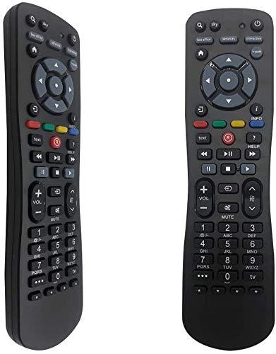 FOXRMT Ersatz-Sky-Fernbedienung für Sky Q Sky HD Sky Q Mini-Sky Plus Sky Q-Satellitenboxen Sky + Digibox Sky + HD Digibox Sky + Plus HD-Box - Einfach Einzurichten Fernbedienung Sky