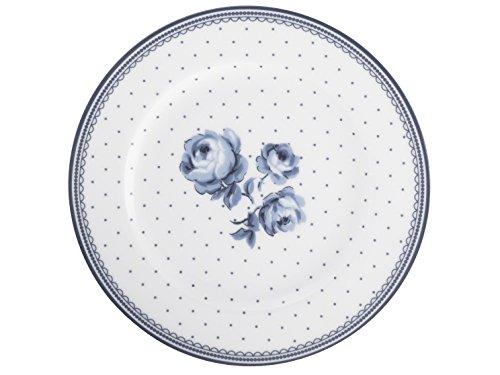 Katie Alice Vintage Indigo Beilagenteller aus Porzellan, mit Blumenmuster, 19 cm (7,5 Zoll)