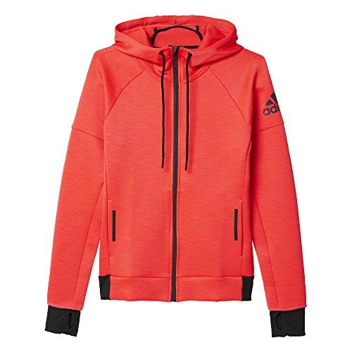adidas Damen Sweatshirt Daybreaker Hood, Rot, S