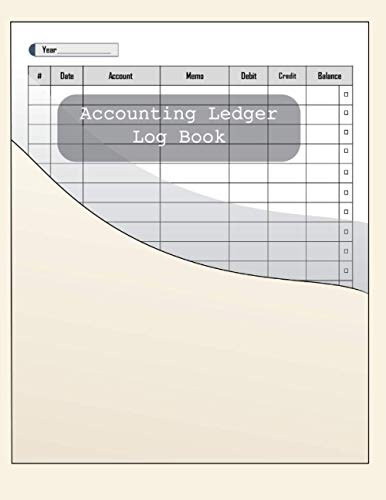 Compare Textbook Prices for Accounting Ledger Log Book: record: Date / Account / memo / Debit / Credit / Balance / year / number, owner name and information in first page,120 pages, double-sided, Size: 8.5 inches x 11 inches  ISBN 9798733305035 by Moustafa, Moustafa Tarek