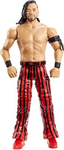 WWE GCB74 - Basis Actionfigur Shinsuke Nakamura 15 cm, Actionfiguren ab 6 Jahren