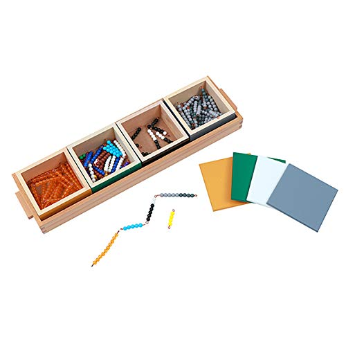 Montessori Math Material: Subtraction Snake Game