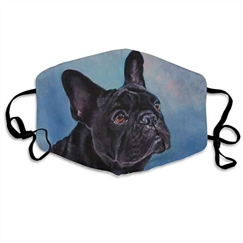 French Bulldog Dog Face Anti-Dust Anti-Pollution Windproof Cover