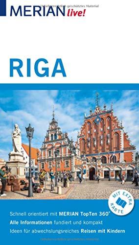 MERIAN live! Reiseführer Riga: Mit Extra-Karte zum Herausnehmen