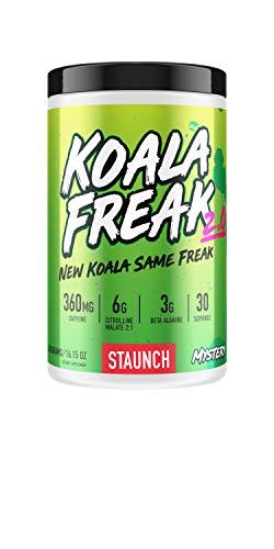 Staunch Koala Freak 2.0 Pre-Workout (Mystery) 30 Servings - Pre & Post Workout Powder