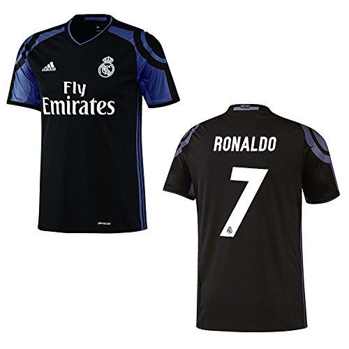 adidas REAL MADRID Trikot 3rd Kinder 2016 / 2017 - RONALDO 7, Größe:140