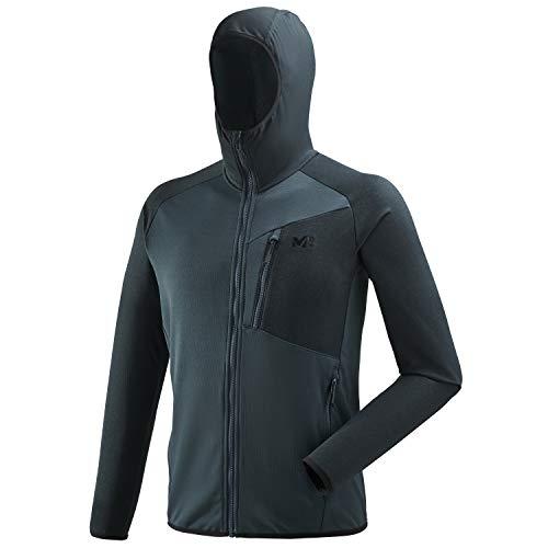 Millet Seneca Tecno hoodie M Fleece, heren, H Orion Blue, FR (maat fabrikant: XS)