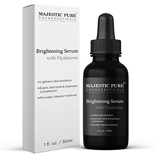 Majestic Pure Serum with Hyaluronic Acid for Face & Skin Improves Complexion $6.60 (80% OFF)