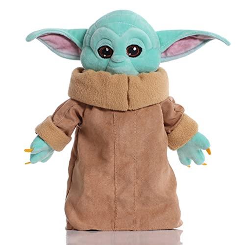 Starwars Baby Yoda De Peluche De Juguete, Lindos Juguetes Blandos De Dibujos Animados, Muñecos De Peluche De Animales, para Niños, Cumpleaños, 30 Cm