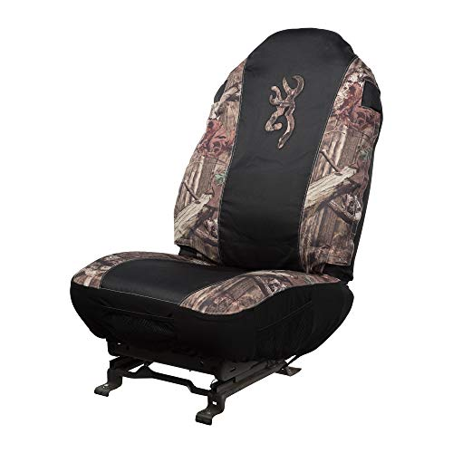 Browning Universal Fit Camo Seat Cover | Black/Infinity Camo | Single