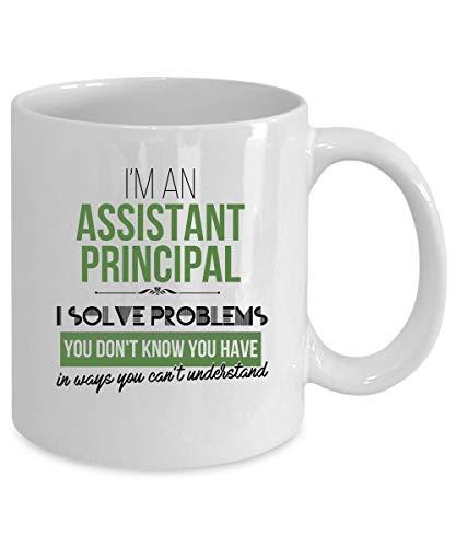 N\A Taza de café del psicólogo Escolar 11 oz. Regalo de psicólogo Escolar