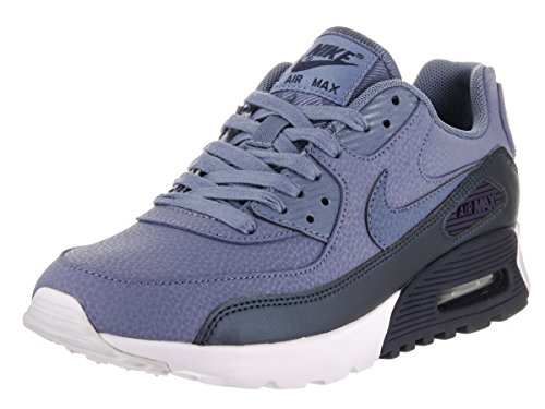 Nike Women's Air Max 90 Ultra SE Blue Leather Running Shoe 7.5