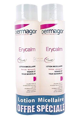 Dermagor Erycalm Lotion Micellaire Sans Rinçage Lot de 2 x 400 ml