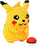 Pikachu Mini Building Block, 3D Puzzle DIY Educational Toy, Divertido Niños Educativo Regalo (5210Pcs)