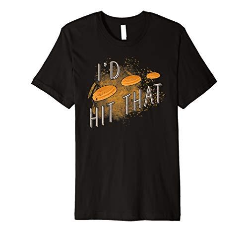 Skeet Shooting Trap Sporting Clay Target I'd Hit That Premium T-Shirt