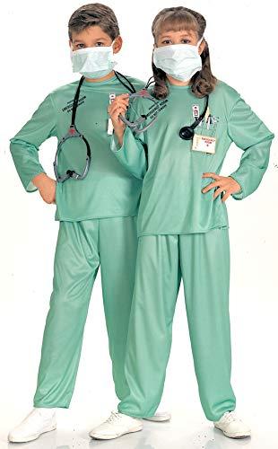 Disfraz de médico doctor para niño, Talla M infantil 5-7 años (Rubie