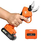 BAIDELE Professional 21V Cordless Electric Pruning Shears,30mm (1.2...