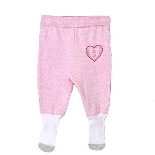 Sevira Kids - Pantalon bébé à pieds en coton bio, ACTIVE