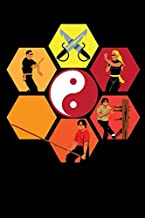 Notebook: Wing Chun Yin Yang Martial Arts Kung Fu Fighter Notebook 6x9 Inches 120 dotted pages for notes, drawings, formulas | Organizer writing book planner diary