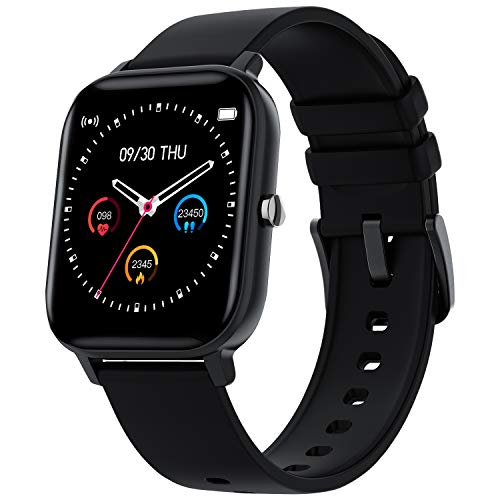 """Smartwatch,Zagzog 1.4"""" Vollfarb-Touchscreen Fitness Armband Aktivitätstracker Sportuhr IP68 mit Schrittzähler,Schlafmonitor,Sportmodus,Stoppuhr für Herren&Damen"""