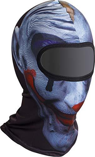 Soxon SH-2 stormkap, balaclava ski-masker nekwarmer naadloos Eén maat joker