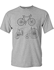 Camiseta de Bicileta: Bocetos de Bicicletas