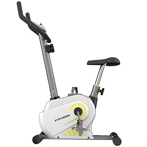 FEIFEI Bicicleta Estática Ejercicio Aeróbico Bicicleta Estática Interior Giratoria Entrenamiento Fitness, Asiento Interno Espacioso Y Cómodo Ejercicio Cardiovascular