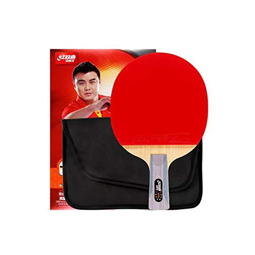 Why Should You Buy HXSD 6 Stars, Double Sided, Long Anti-Adhesive Table Tennis, Pen-Hold, Horizontal...
