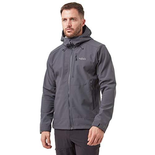 RAB Mens Salvo Jacket Anthracite/Granite (Medium)