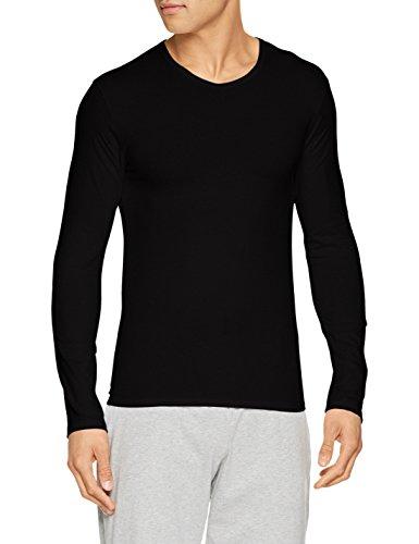 Abanderado ASA040Y, Camiseta X-Temp con Manga larga para Hombre, Negro, Large (Tamaño del fabricante:L/52)