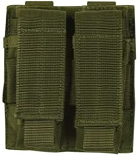 Fox Outdoor Dual Pistol Mag Pouch Olive Drab