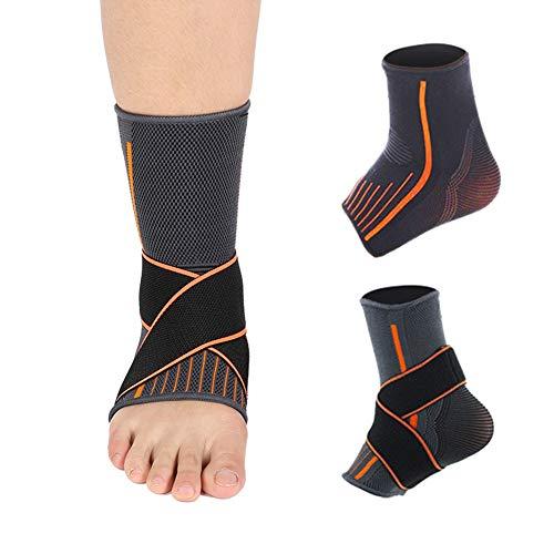 HaiQianXin Sprunggelenkstütze Kompression Atmungsaktiver elastischer Schutzgurt (Color : Men)
