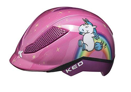 KED Reithelm PINA Unicorn für den Reitsport und Fahrrad für Kinder, Gr. M = 51-56 cm