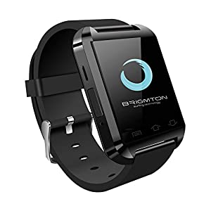 "Brigmton BWATCH-BT2N - Smartwatch (1.44"", 32 MB RAM, USB 3.0, Micro-USB), Color Negro 1"