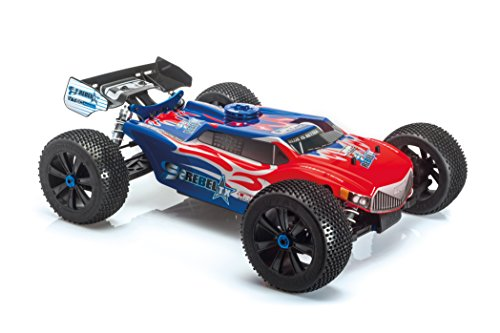 LRP Electronic 131511 - S8 Rebel TX 2.4GHz RTR -1/8 Verbrenner Truggy 2.4GHz RTR