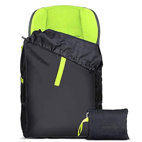 HyAdierTech Kindersitz Reisetasche, Transporttasche Reisetasche für Kinderwagen, Wasserdicht, Flugzeug Gate Check in, Einfacher Transport & zu identifizieren am Flughafen Gepäckband