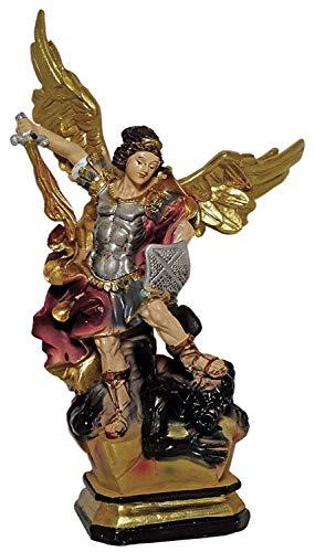 Kaltner Präsente Geschenkidee - Deko Figur Heiliger Michael Erzengel (Höhe 19 cm)