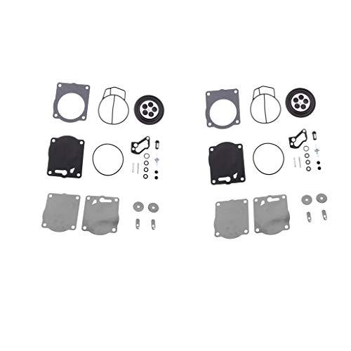 prasku 2x Kit de Reconstrucción de Carburador de Motocicleta Dual para Sea Doo 951 XP GSX GTX RX
