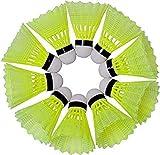 Best Badminton Shuttlecocks - Skypremium 350 Nylon Badminton Shuttlecock | Green Color Review