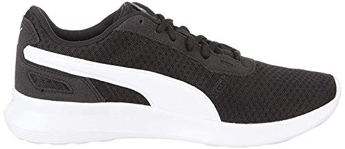 PUMA ST Activate, Zapatillas Unisex Adulto, Negro Black White, 42.5 EU