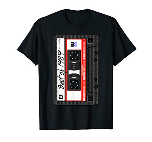 Kassette Best Of 1989 Dreißig Geschenk Mottoparty 80er 90er T-Shirt