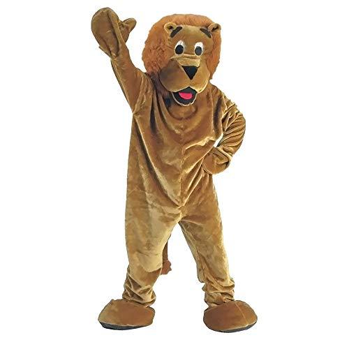 Dress Up America Costume de mascotte de lion de peluche de luxe pour des adultes