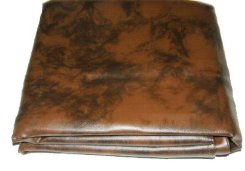 Iszy Billiards 8 Foot Heavy Duty Fitted Leatherette Pool Table Billiard Cover Amber