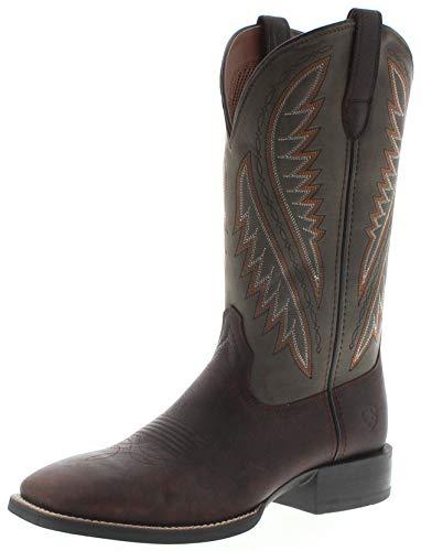 Ariat Herren Cowboy Stiefel 29632 Sport Stonewall Westernstiefel Lederstiefel Braun 46 EU