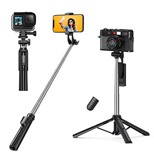Selfie Stick Tripod 3 in 1 Selfie Stick, MP Tele CA Portable and Extendable...
