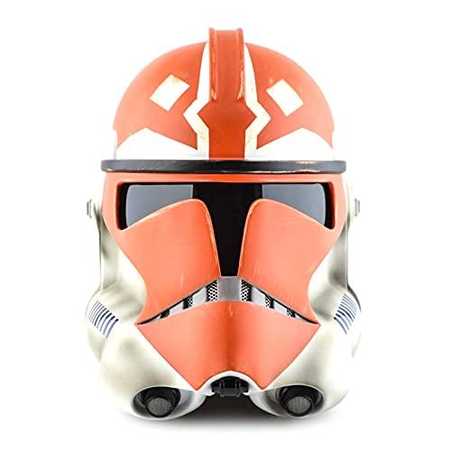 AUZOOHH Casco de máscara Imperial Stormtrooper para niños, Accesorio de Cosplay, máscara de Halloween para Adultos, Casco de Material de PVC Duro