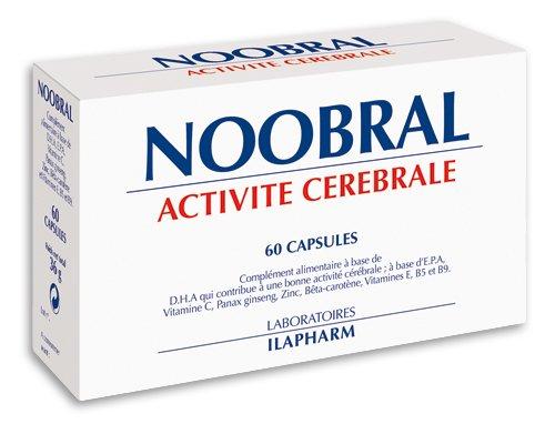 Laboratoires Ilapharm – NOOBRAL – Ein lebhafter Geist und ein treues Gedächtnis – Box mit 60 Kapseln