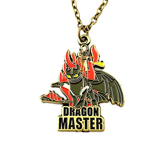 YUNMENG How to Train Your Dragon Necklace Cosplay Metal Fashion Jewelry Woman/Boy Gift