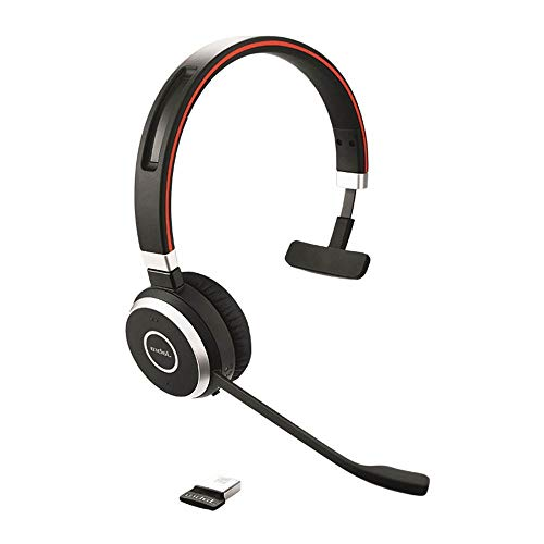 Affordable Jabra Evolve 65 Mono UC, Charging Stand & Link 370 - Professional Unified Communicaton He...